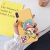 coque iphone one piece candy chopper jaune