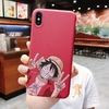 coque iphone one piece red luffy 2