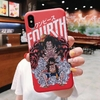 coque iphone one piece red luffy 3