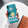 coque iphone one piece color sanji