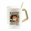 mug one piece gold pure luffy wanted