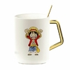 mug one piece gold pure luffy kid