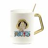 mug one piece gold pure monkey luffy