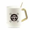 mug one piece gold pure logo