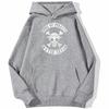sweatshirt hoodie one piece water seven gris