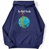 sweatshirt hoodie one piece petit pirate bleu marine
