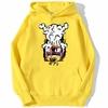 sweatshirt hoodie one piece monkey luffy gear jaune