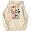 sweatshirt hoodie monkey luffy studio beige