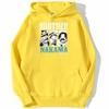 sweatshirt hoodie one piece brother nakama jaune