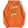 sweatshirt hoodie one piece fruit demon orange