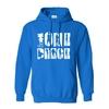 sweatshirt hoodie one piece shadows bleu