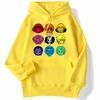 sweatshirt hoodie one piece mugiwara jaune