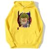 sweatshirt hoodie one piece roronoa zoro jaune