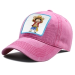 casquette one piece luffy happy rose