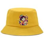 bob one piece luffy coloré jaune