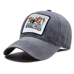 casquette one piece strawhat crew grise