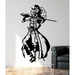 stickers mural one piece brook