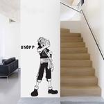 stickers mural usopp one piece 2