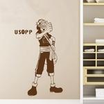 stickers mural usopp one piece 3