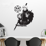 stickers mural law 2 one piece 2