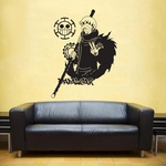 stickers mural law 2 one piece 1