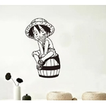 stickers mural luffy kid one piece 1