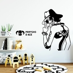 stickers mural ace back 2 one piece