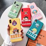 coque iphone one piece color 1