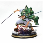 figurine one piece roronoa zoro haki wano 1