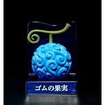 figurine one piece fruit du demon gomu gomu no mi