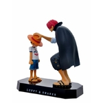 figurine one piece luffy shanks commencement 2