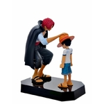 figurine one piece luffy shanks commencement 3