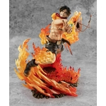 figurine one piece portgas ace fire 3