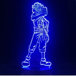 lampe 3d one piece usopp bleu