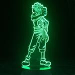 lampe 3d one piece usopp vert