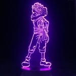 lampe 3d one piece usopp violet