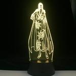 lampe 3d one piece boa hancock jaune