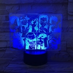 lampe 3d one piece mugiwara bleu 2