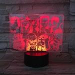 lampe 3d one piece mugiwara rouge