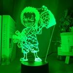 lampe 3d one piece mini roronoa zoro vert