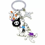 porte cles one piece five jolly roger 3