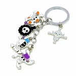 porte cles one piece five jolly roger 4