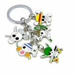 porte cles one piece five jolly roger 1