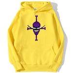 sweatshirt hoodie one piece white bear jaune