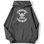 sweatshirt hoodie one piece water seven gris fonce