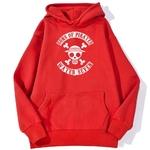 sweatshirt hoodie one piece water seven rouge