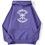 sweatshirt hoodie one piece water seven violet