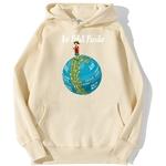 sweatshirt hoodie one piece petit pirate beige