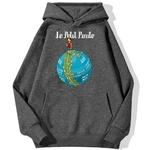 sweatshirt hoodie one piece petit pirate gris fonce