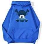 sweatshirt hoodie one piece skull merry bleu